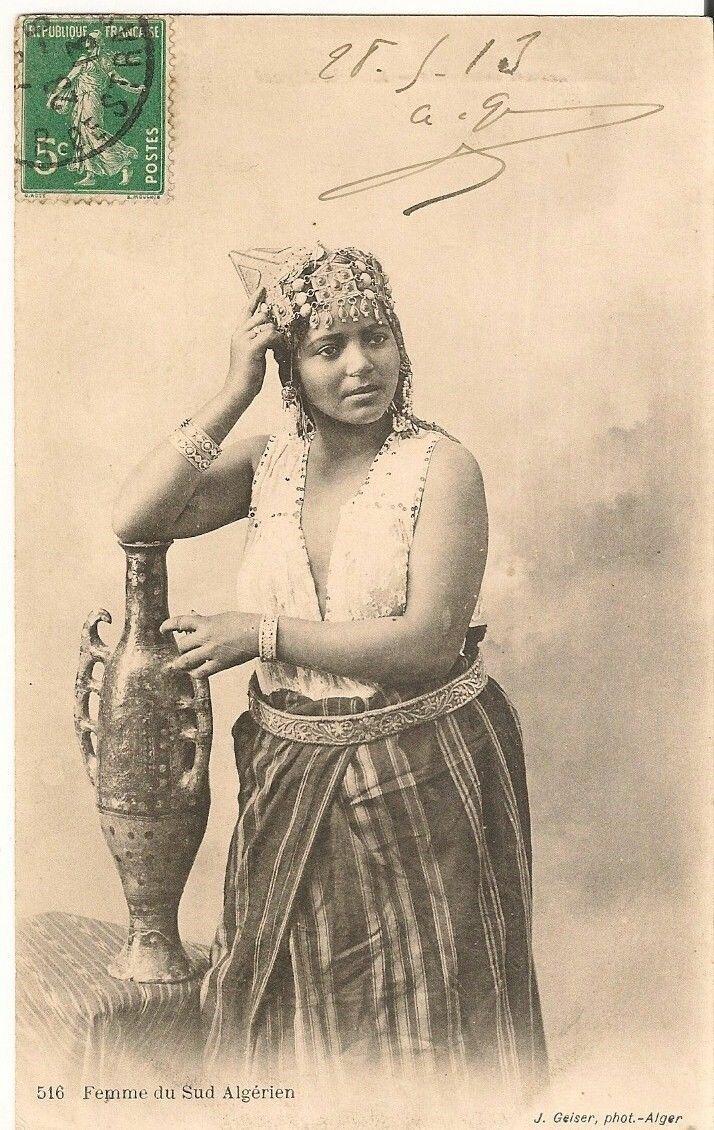 1913. Женщина из Южного Алжира