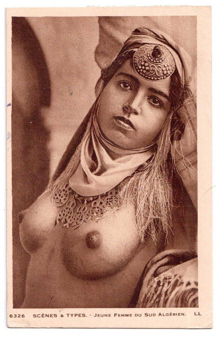 1900.  Молодая женщина с юга Алжира