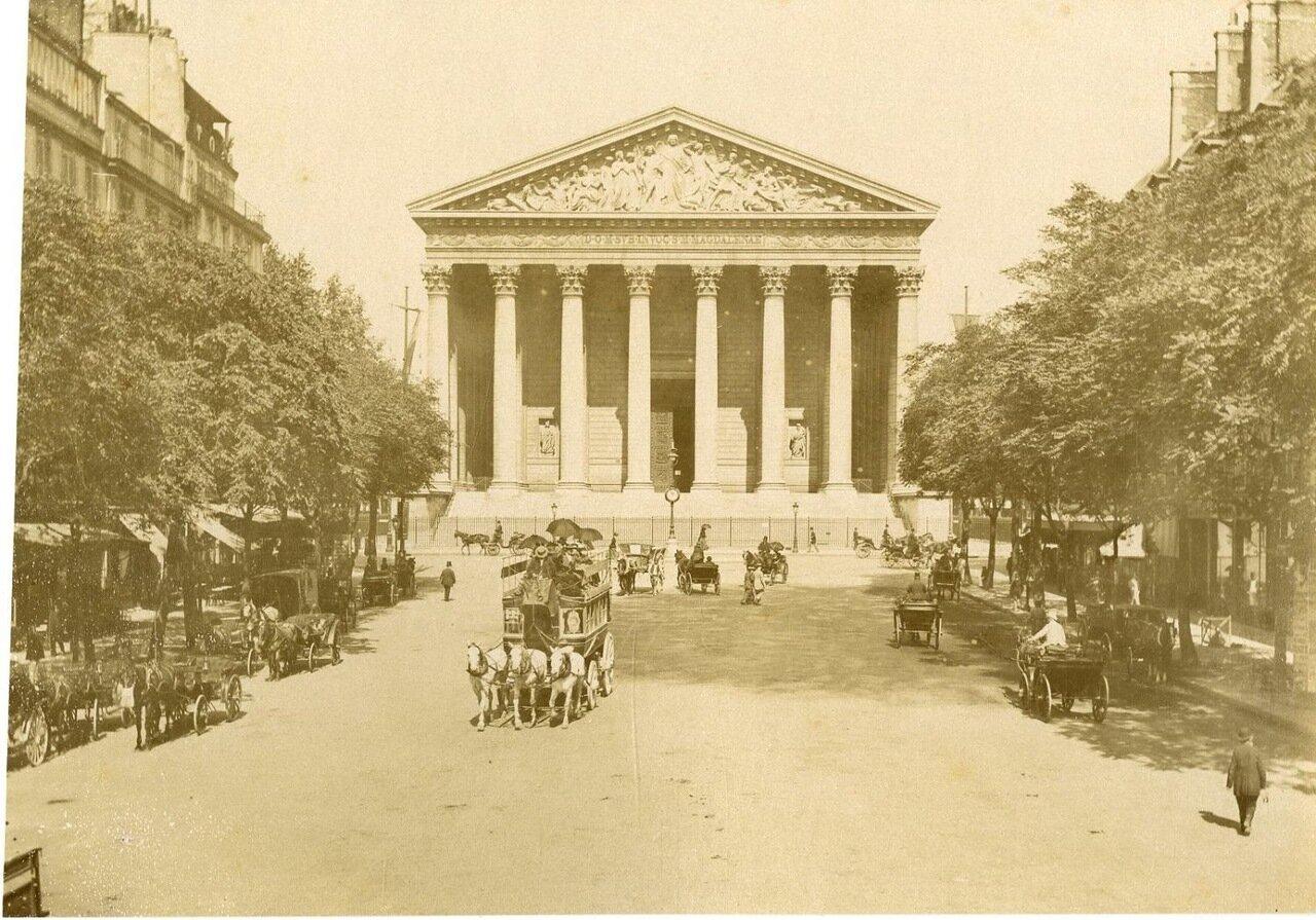 Церковь Мадлен (церковь Святой Марии Магдалины). 1870-е