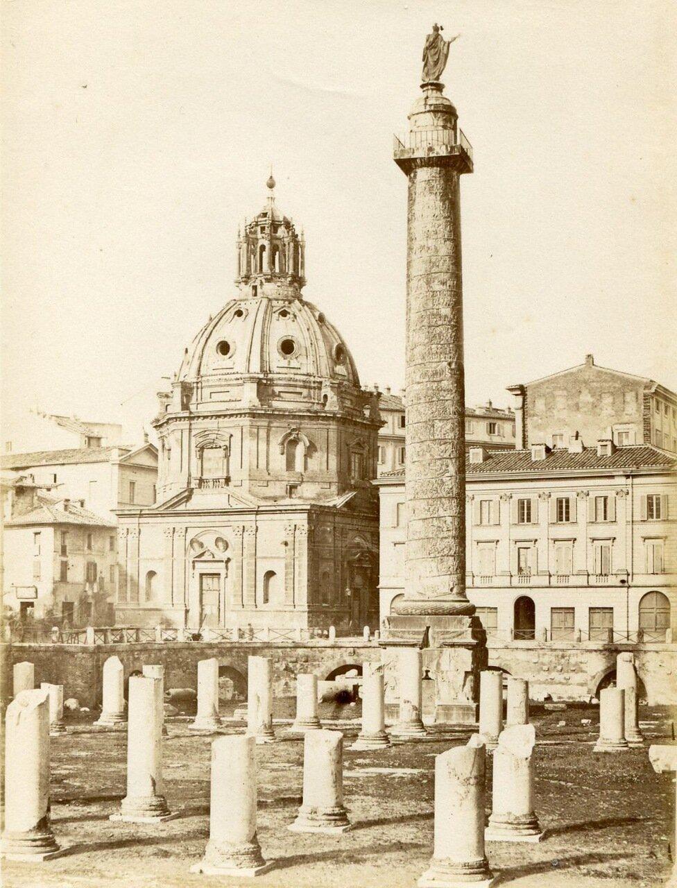 Форум Траяна. 1870