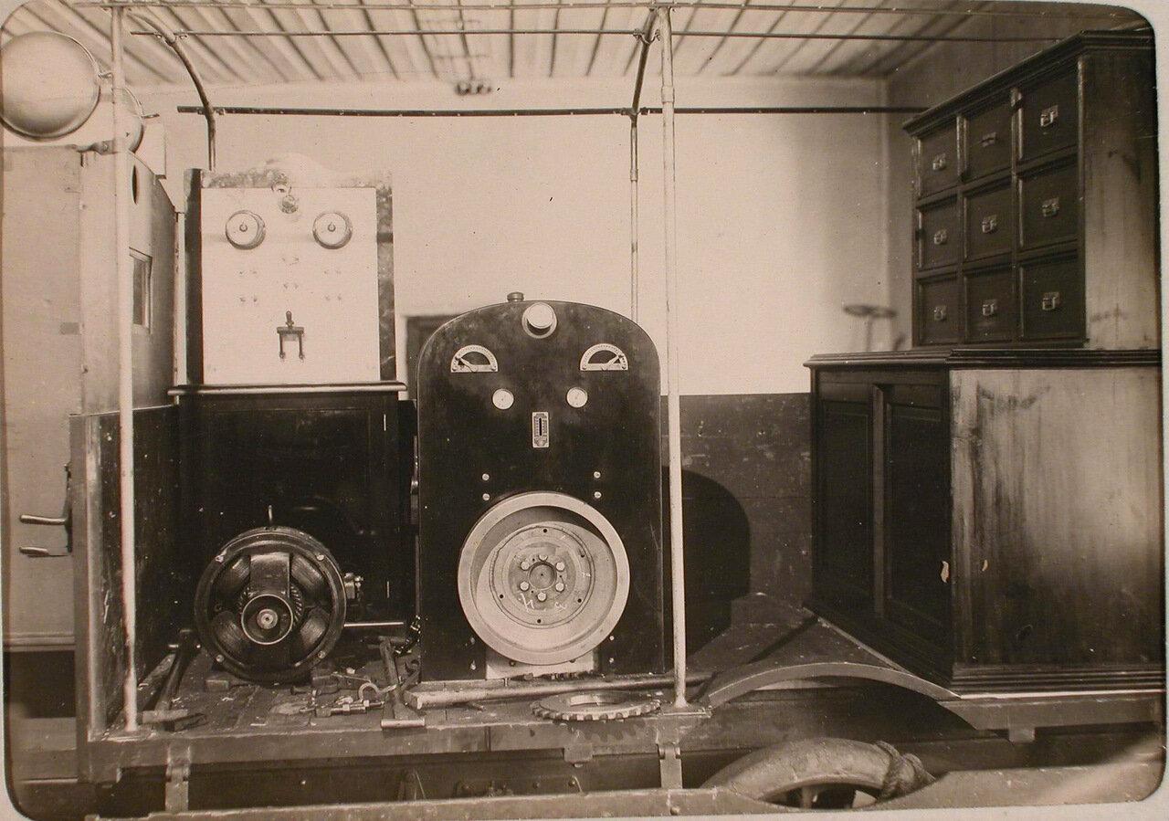 40. Походная электростанция, установленная на автомобиле и предназначенная для авиабазы