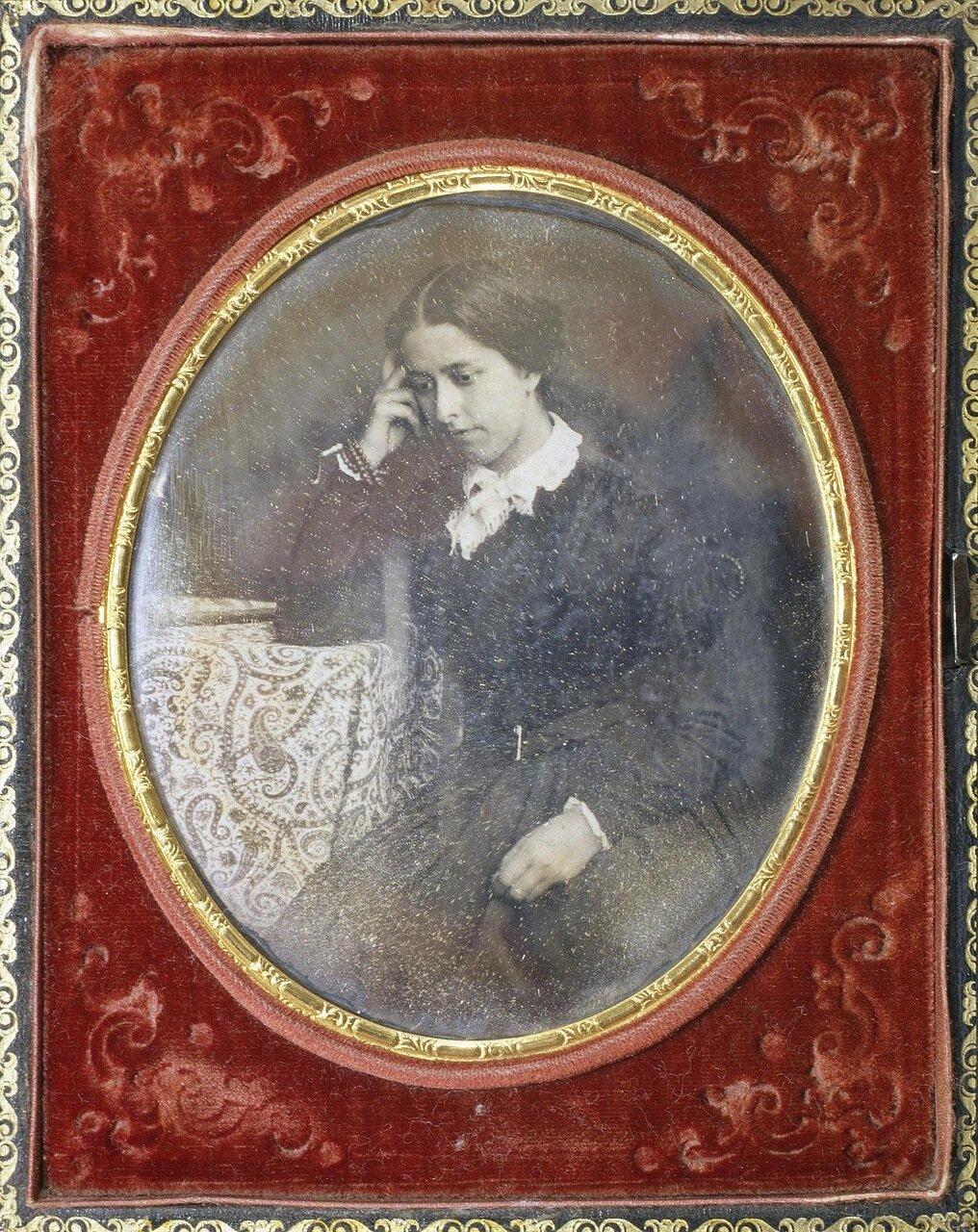 Портрет молодой дамы. 1840-е