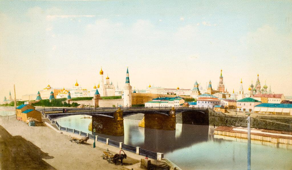 11. Москва. Панорама Кремля