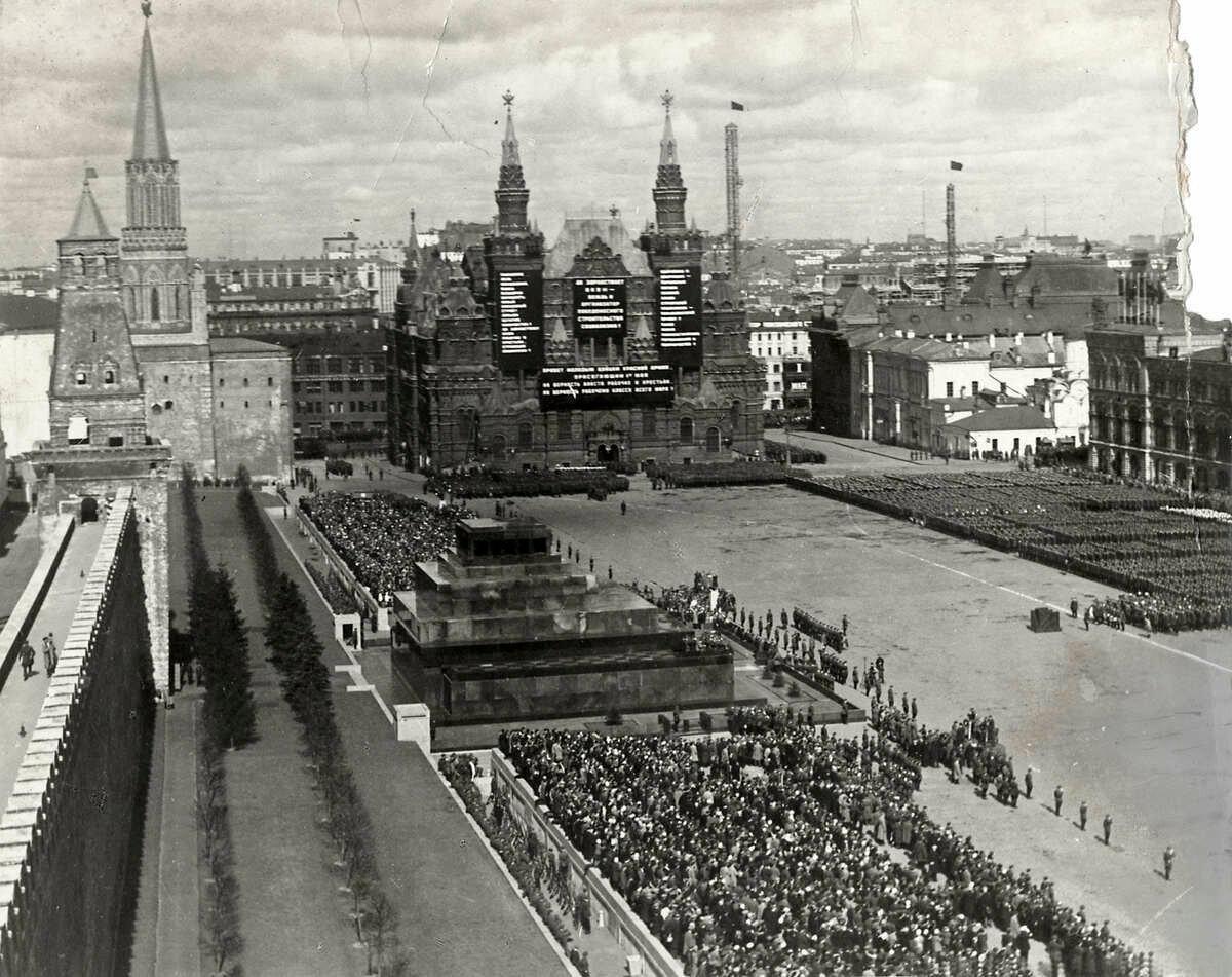 1 мая 1933. Москва