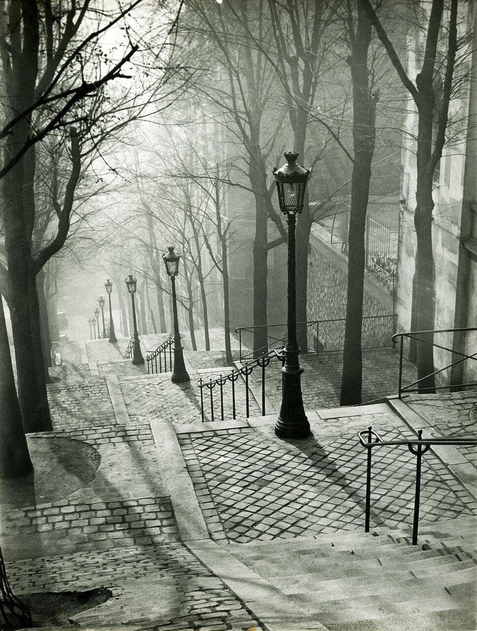 1936. Лестницы Монмартра
