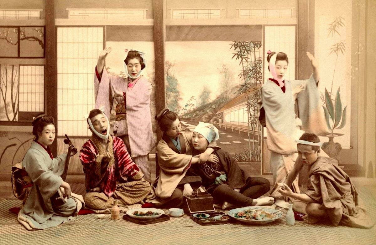 Вечеринка с гейшами