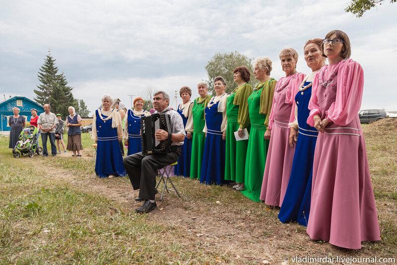 Праздничный концерт на Дне села Кистыш