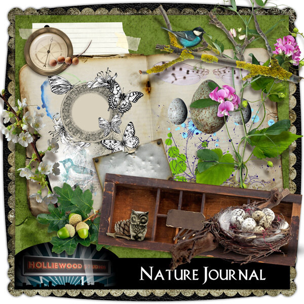 Scrap kit Nature Journal