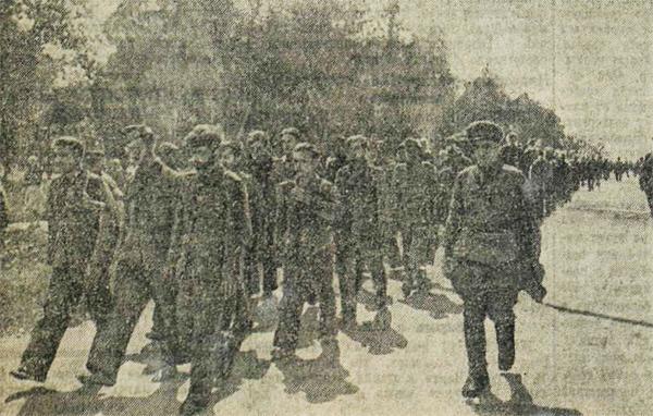 «Красная звезда», 18 июля 1942 года, пленные немцы, пленные немцы в советской армии, немцы в советском плену, немецкий солдат