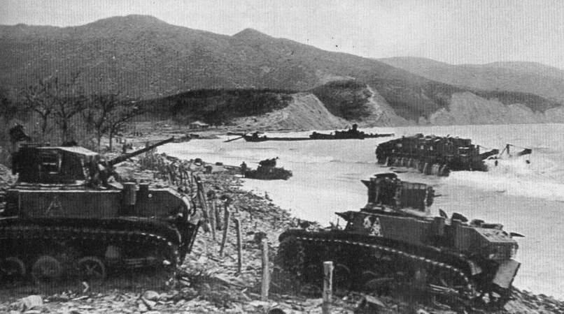Подбитые танки М3л из состава 563-го отб. Южная Озерейка, 1943 г.