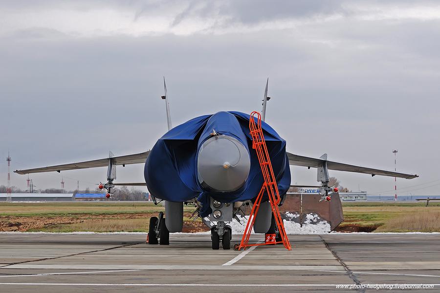 """""""Пермь Великая"""" - именной самолет МиГ-31"""