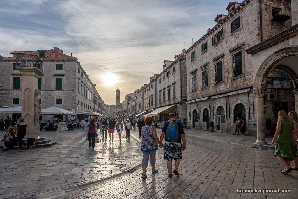 Дубровник. Старый город.