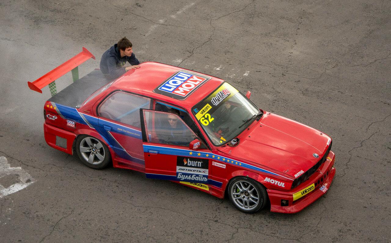 Роман Матюкевич и его BMW E30