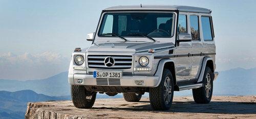 Mercedes начал разработку нового внедорожника