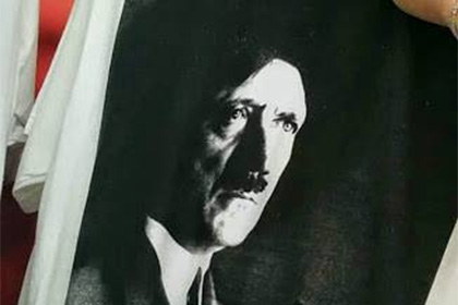 Канадский магазин торговал футболками с изображением Гитлера