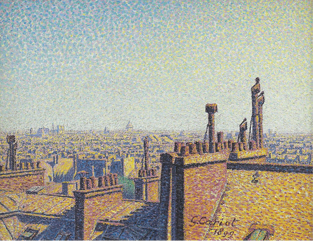 Gustave Cariot - The Roofs of Paris, Afternoon, 1899.jpeg