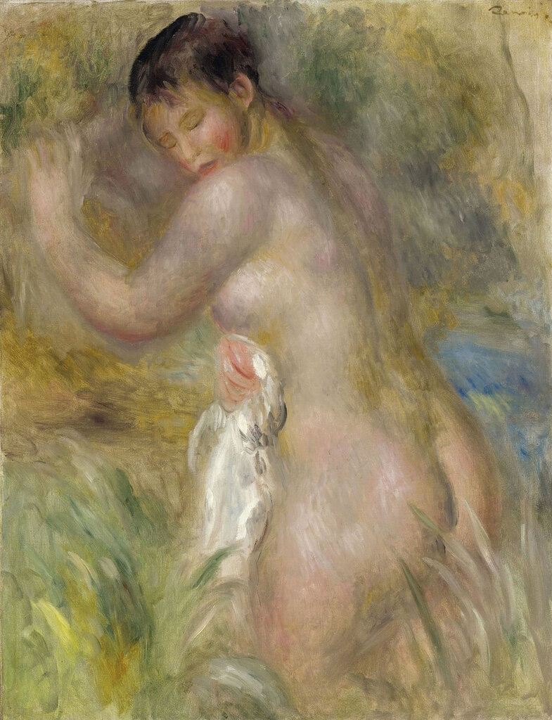 Pierre Auguste Renoir - Bather, 1885-90.jpeg