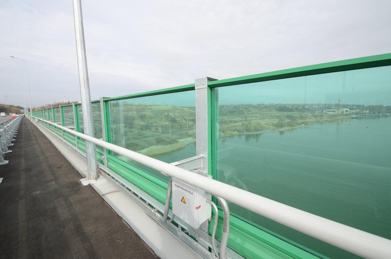 М4 ДОН М4 трасса Дон Мост через реку Дон в Аксае город Аксай открыли мост Ростовская область 1061 км 1 ноября 2014