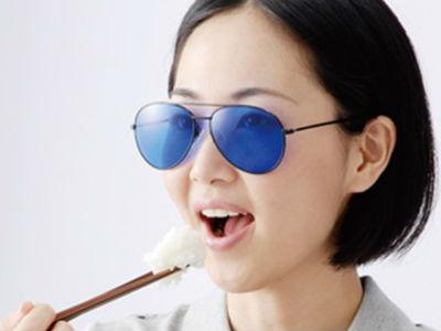 Мир сквозь синие очки. Диета по-японски