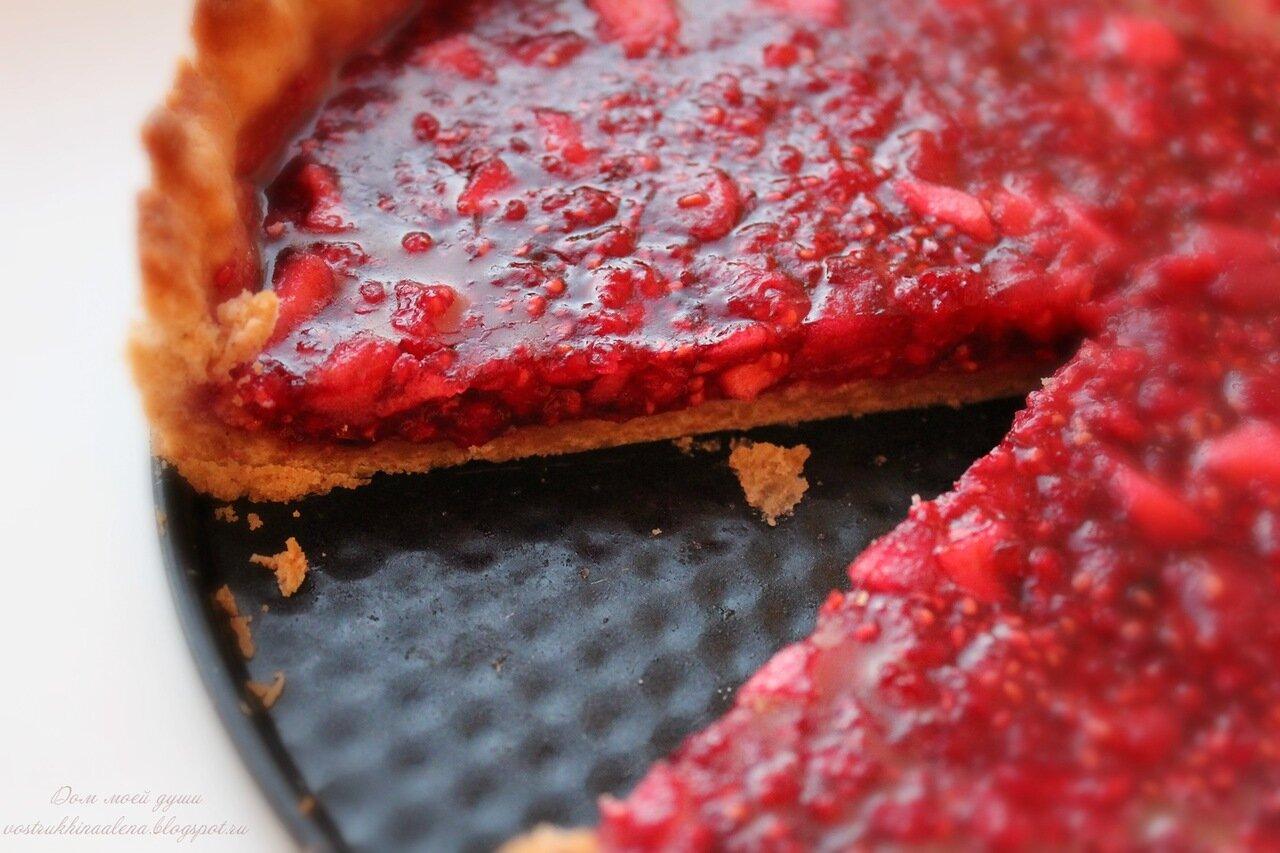 Пирог из малины