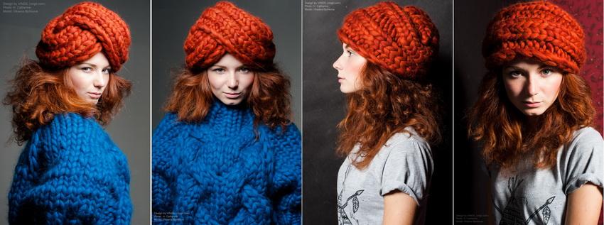 шапка чалма фото с чем носить