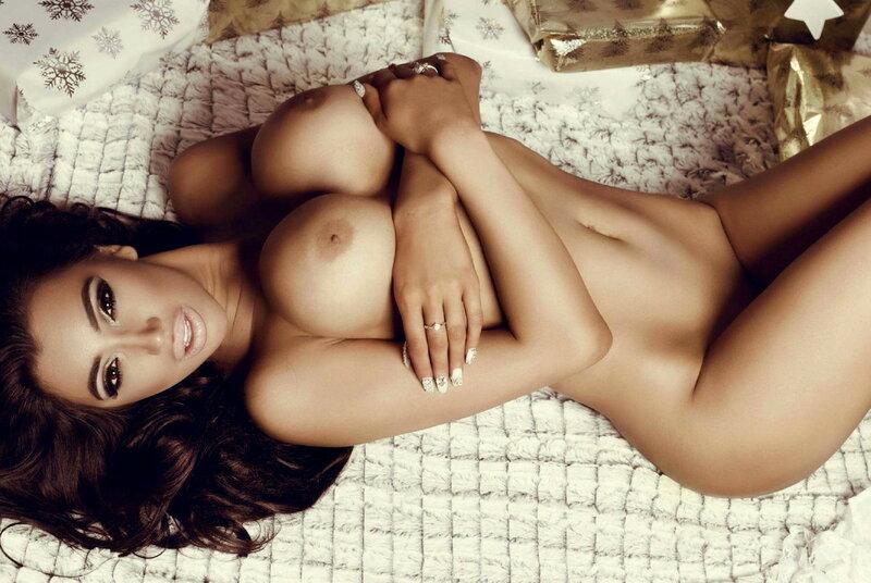 Miss December 2015 Venezuela Chloe Khan in Playboy