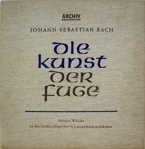 J.S. Bach. Die Kunst Der Fuge (1956) [Archiv Produktion, 14077-78]