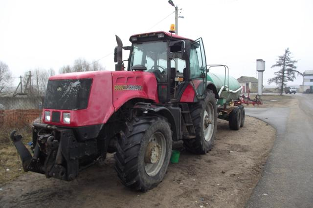 В трех областях Беларуси орудовала группа разукомплектовщиков новых тракторов МТЗ