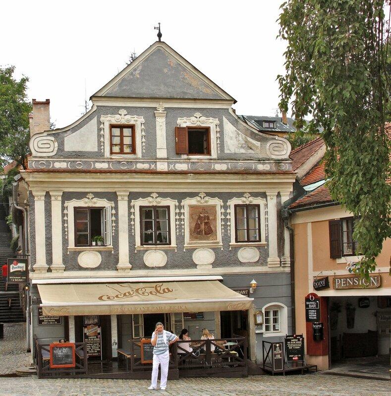Дом в старой части города.