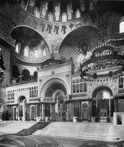 Морской Никольский собор. Интерьер. 1914