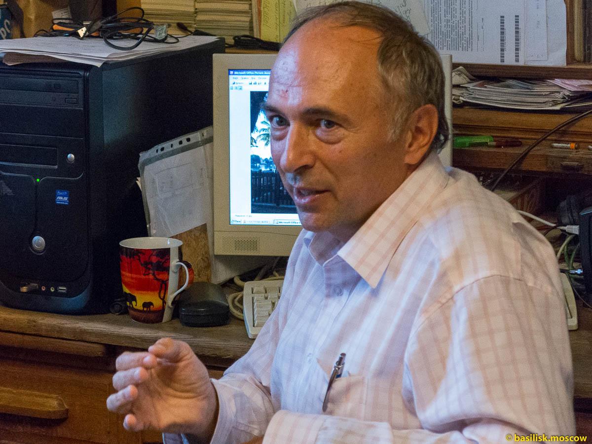 Путешественник Владимир Лысенко.