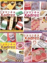 Colesao Trabalhos em tecido Xadrez Ano.1 No. 1, 6, 7, 9
