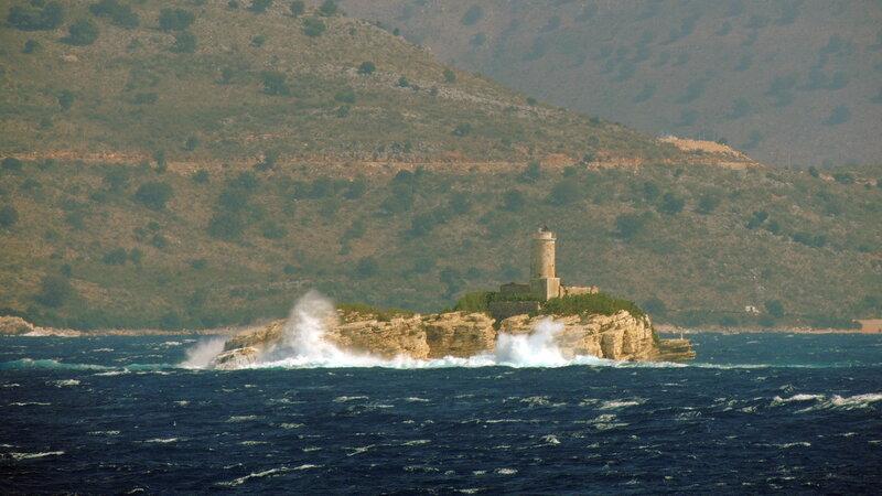 Кассиопи (Kassiopi) - север остр
