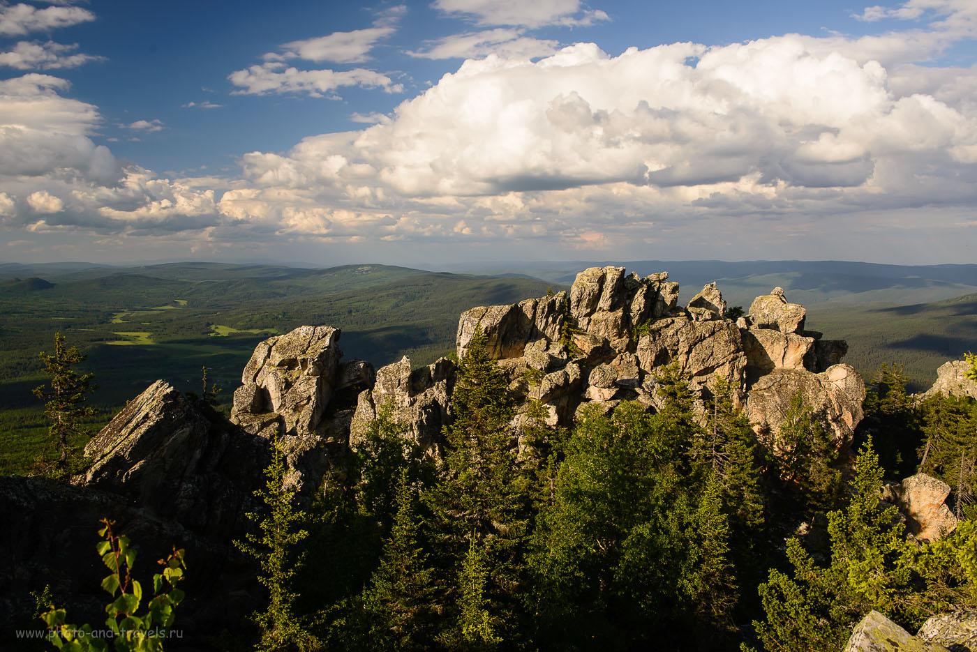 16. Виды на вершине горы Малиновая. Отдых в Башкирии (160, 28, 8.0, 1/250)