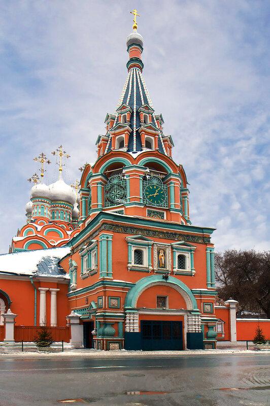 Москва. Храм свт. Григория Неокесарийского.