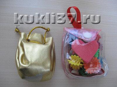 летние сумочки для куклы