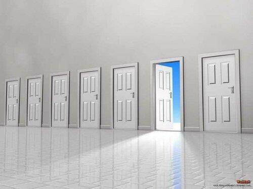 когда бог закрывает одну дверь он открывает другую Popuga