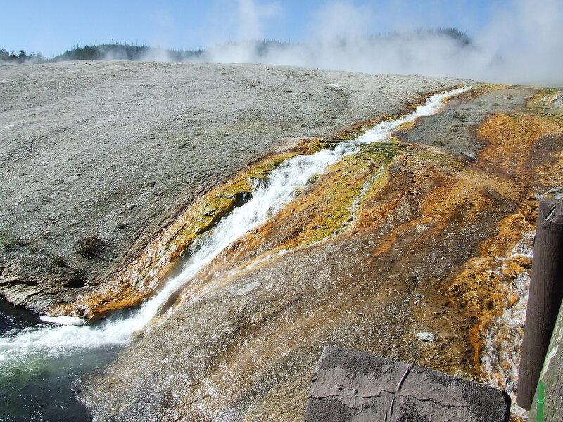 Долина гейзеров. Йеллоустоунский национальный парк