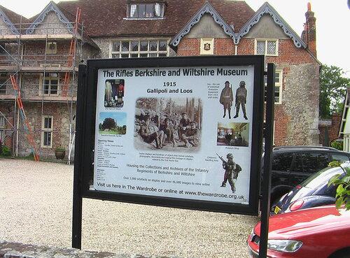 Солсбери, музей пехотных полков Беркшира и Уилтшира