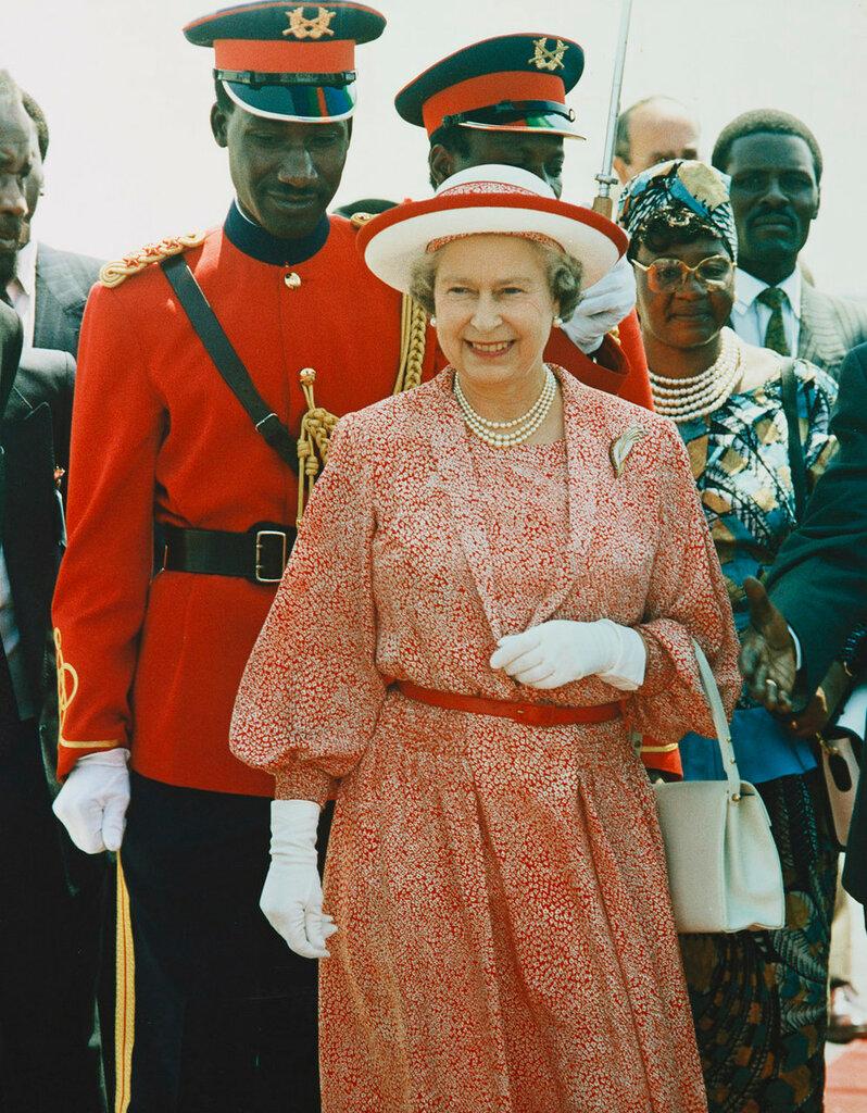 Ее Величество Королева Елизавета II в Кении  ноября 1983