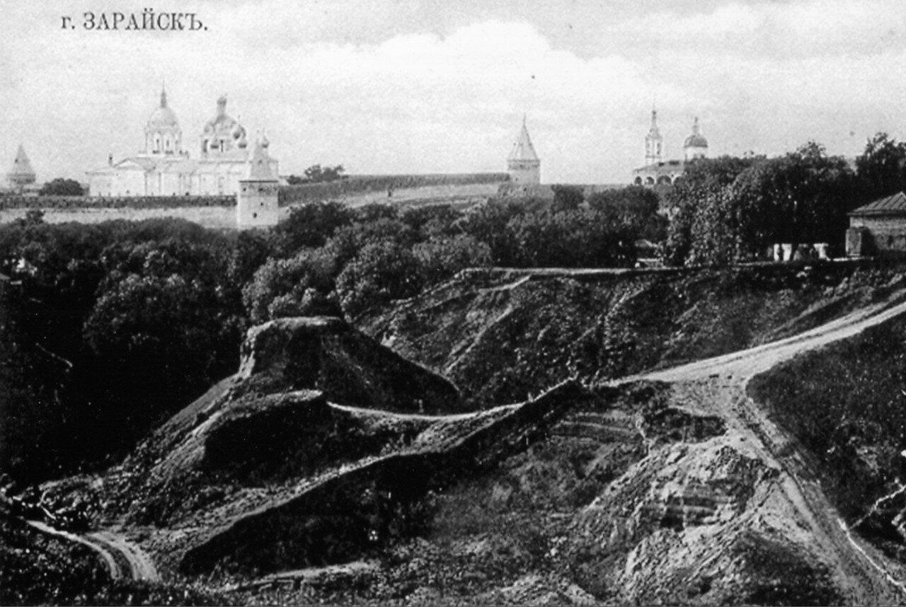Общий вид на Зарайский кремль