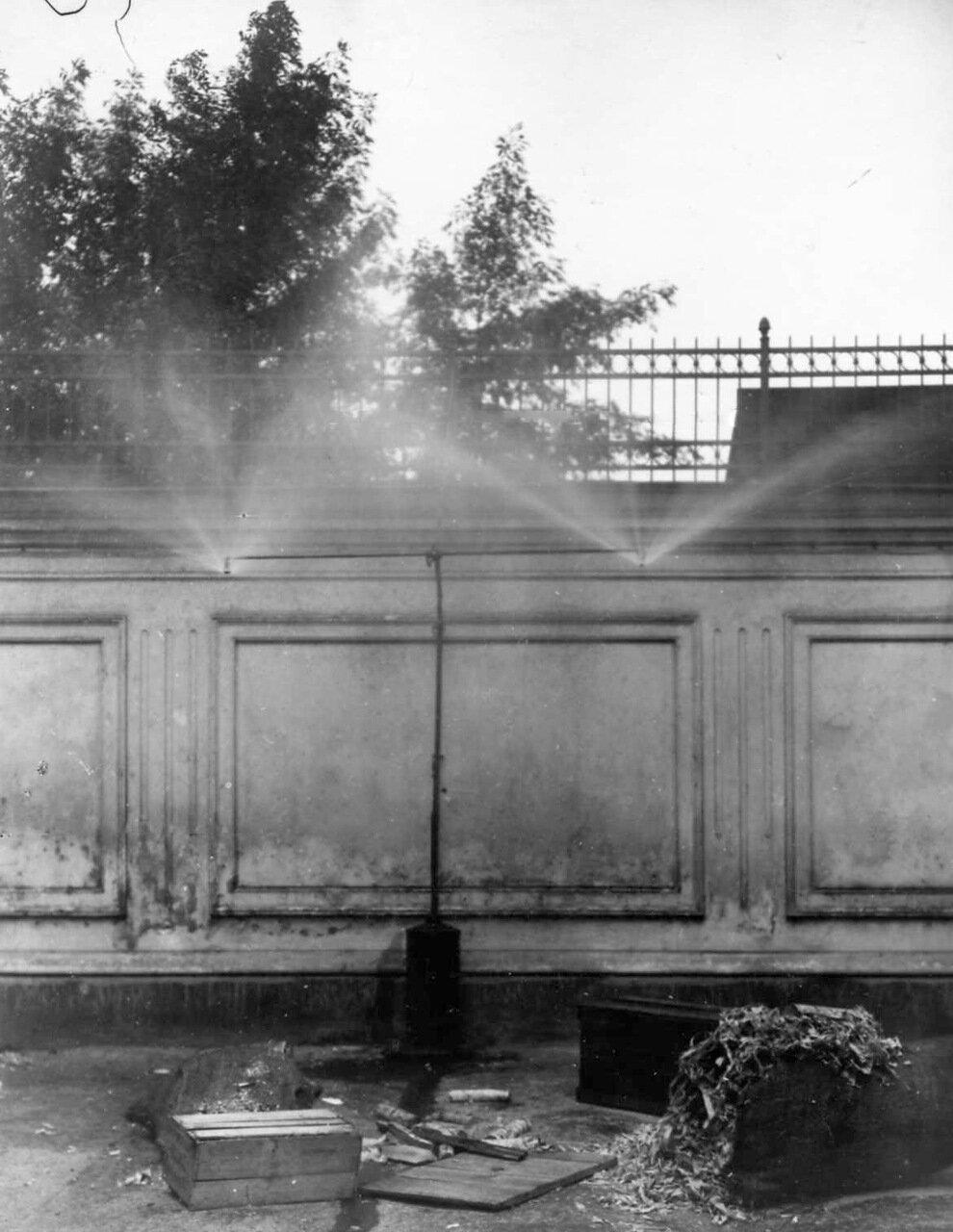 07. Опыт с огнетушителем новой системы. 25 марта 1910
