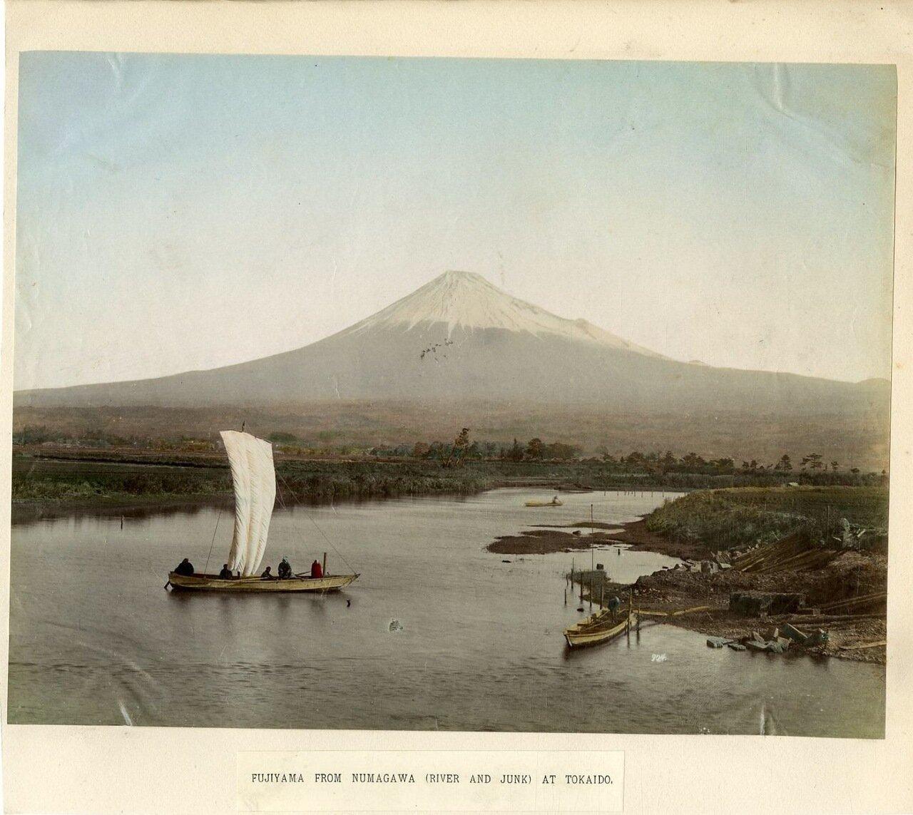 Фудзияма. Вид с Нумагавы