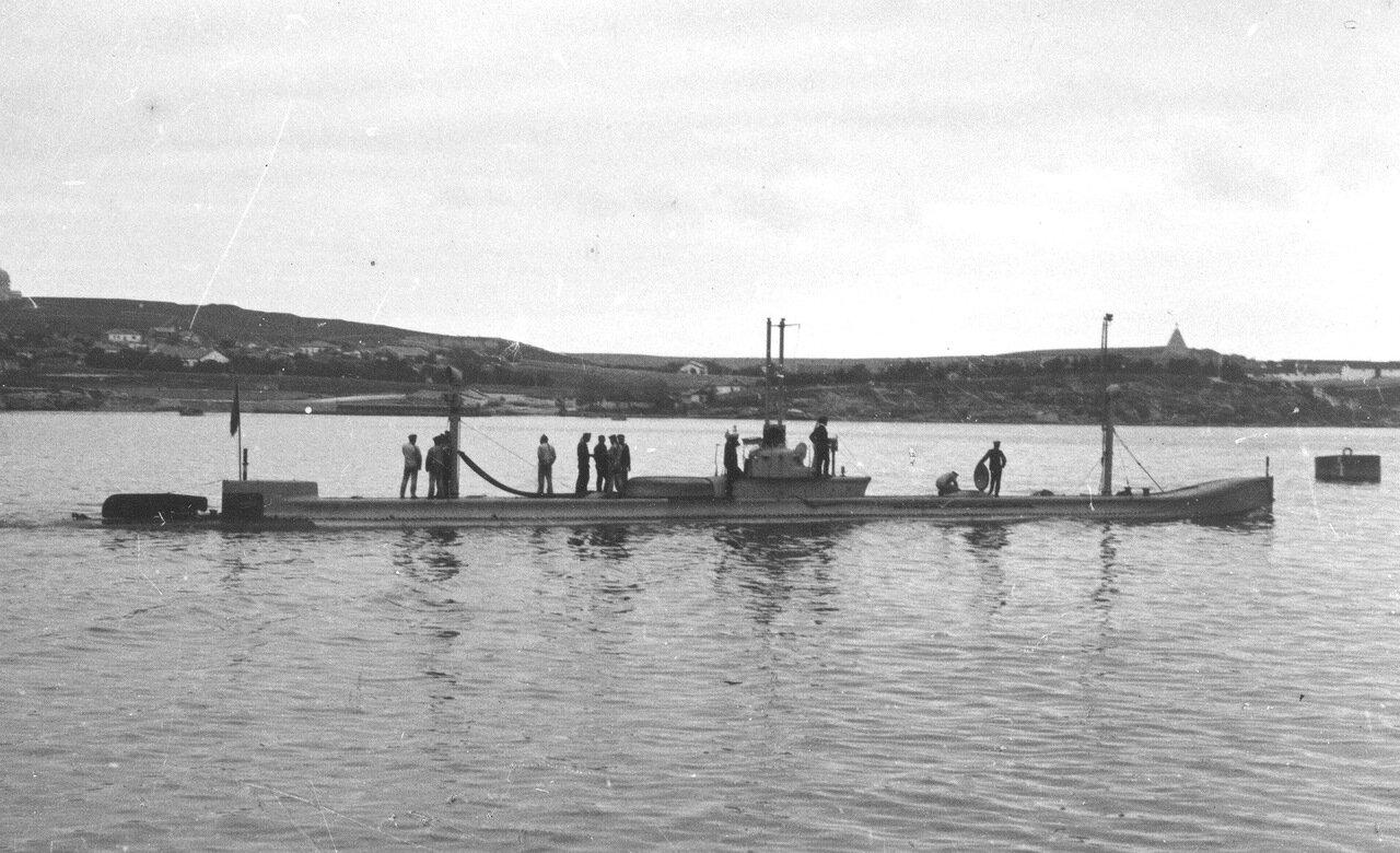 34. Подводная лодка Карась
