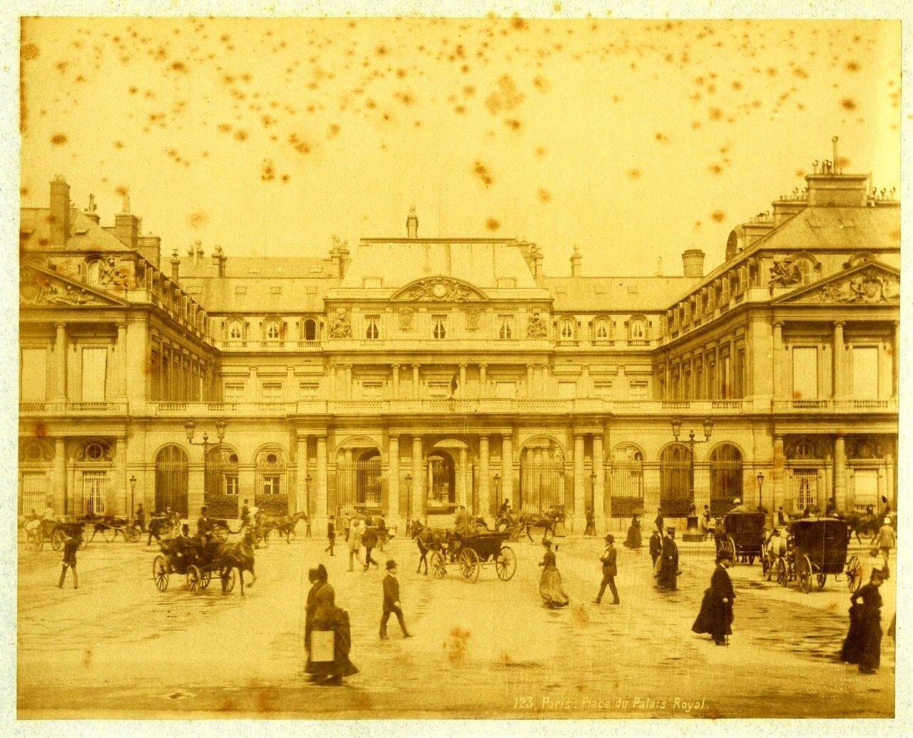 Пале-Рояль. 1880-е