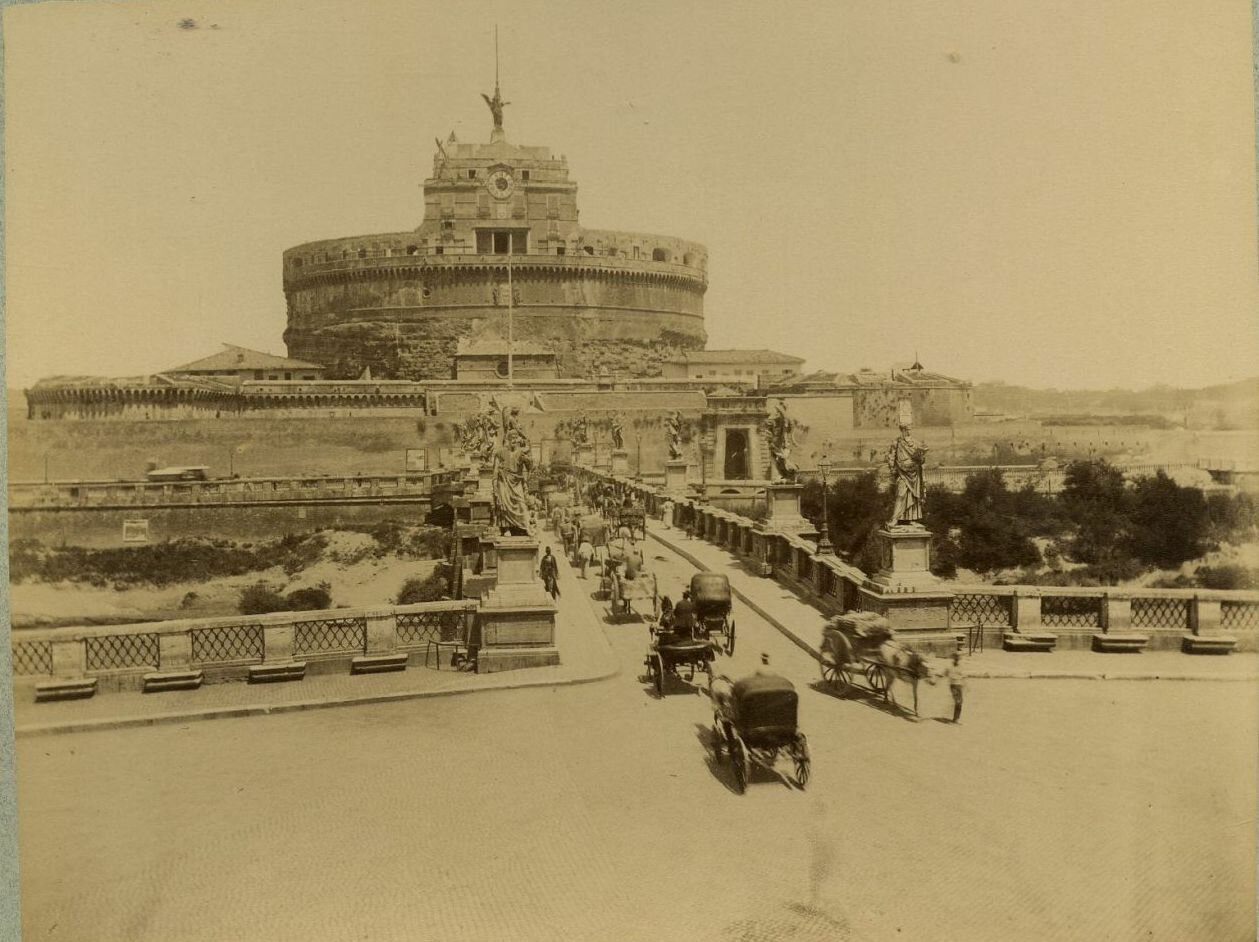 Замок св. Ангела. 1880.