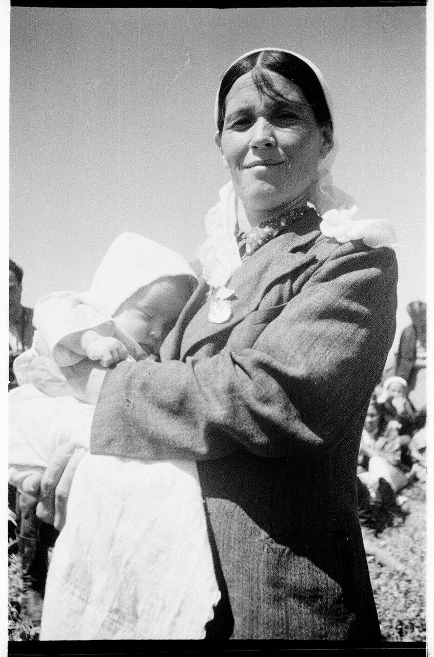Мать-героиня Кукбаби Тастанбекова