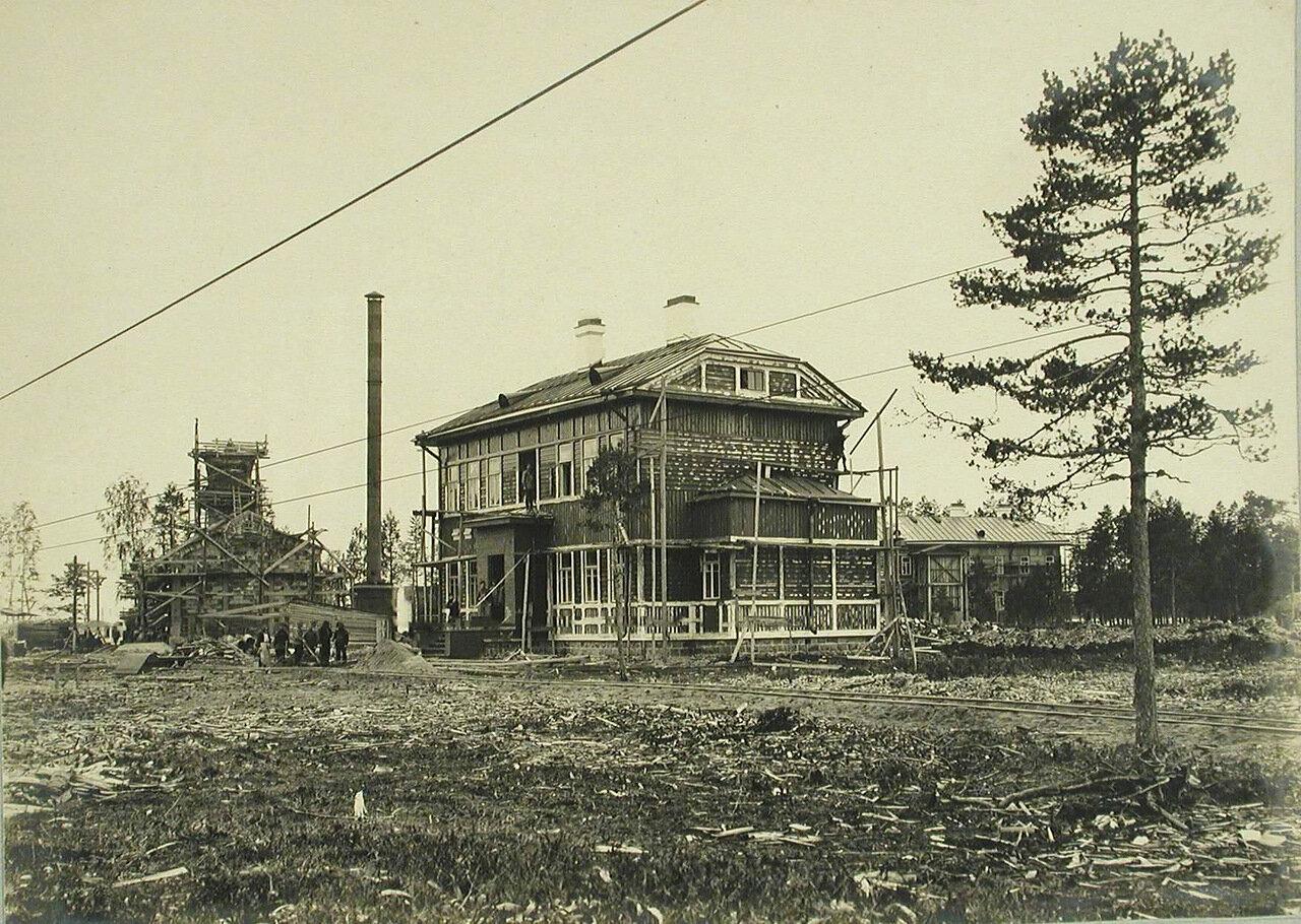 09. Общий вид дома для рабочих-строителей подвесной дороги