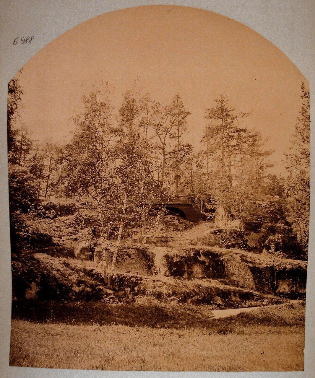 45. Вид одного из парковых павильонов - Паульштайна