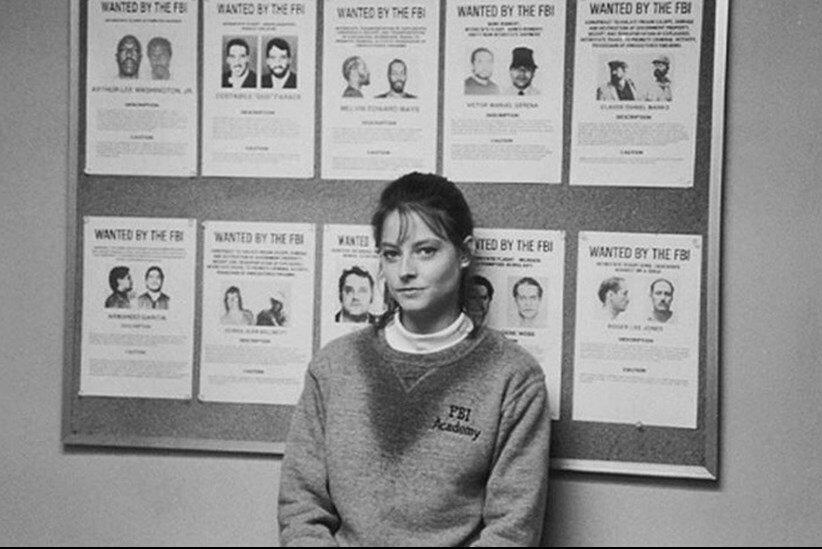 1990. Джоди Фостер на съемках «Молчание ягнят»